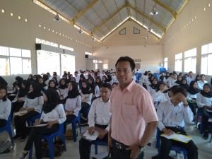 Pak Agus Gunarto Selaku Ketua BKK SMKN 1 Kediri