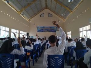 Rekrutmen PT UNICHARM Indonesia yang diikuti oleh peserta alumni dari SMK se-Karisidenan Kediri.